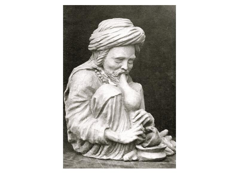 rq-art.com-clara-quien-sculptures01-Kashmiri flute player